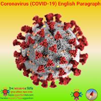 Coronavirus (COVID-19) English Paragraph করোনাভাইরাস (COVID-19) ইংরেজি অনুচ্ছেদ