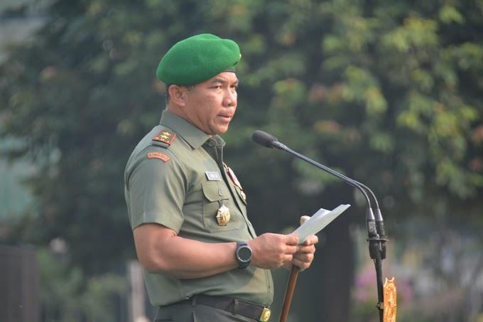 Sebagai Bentuk Rasa cinta Tanah Air Dan Penghormatan Jasa Para Pahlawan Bangsa, Kodam Jaya Gelar Upacara Sumpah Pemuda