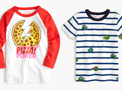 af743a458 ... Teenage Mutant Ninja Turtles brand! The nine-piece capsule collection  is available online on J. Crew's website and in all of the company's kid-oriented  ...