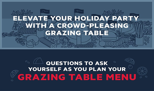 Elevate Your Holiday Party with a Crowd-Pleasing Grazing Table