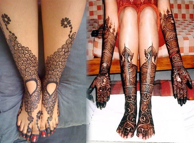 Foot Mehndi Designs