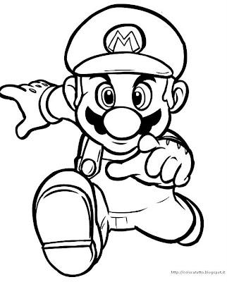 Mario Kleurplaat Kart 8 Printen Mario Disegno Da Colorare N 7