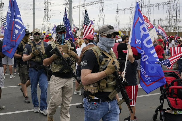 Muncul Ancaman Penembakan Massal jika Biden Menang Pilpres AS