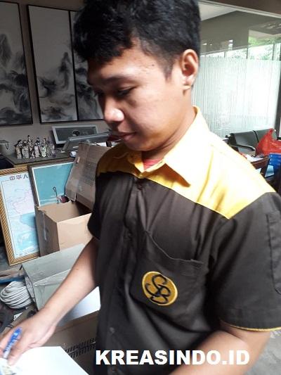 Pegangan Kamar Mandi pesanan PT Stylish Jayamas Persada di Kedoya Jakarta Barat