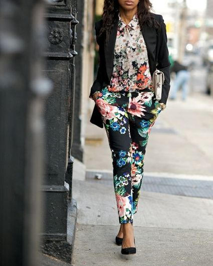 Print Mixing trend street style
