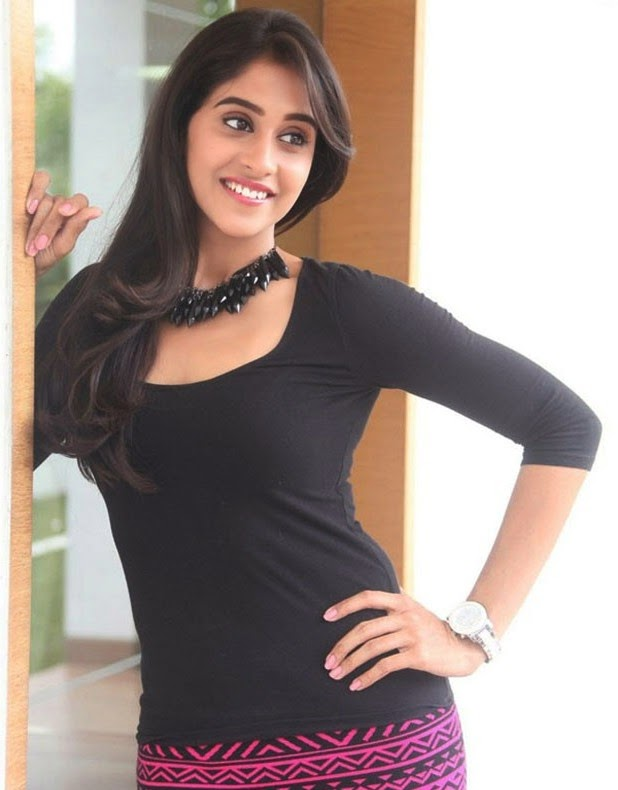 Regina Cassandra Latest Stills In Black Dress