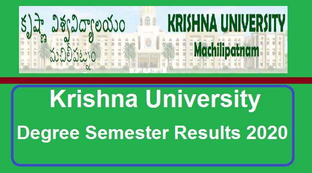 Manabadi Krishna University Degree Results 2020