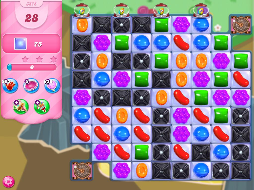 Candy Crush Saga level 3318