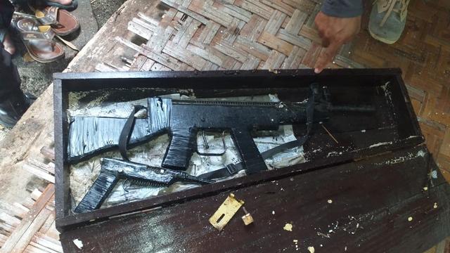 Warga Temukan Peti Berisikan Senjata Terapung di Laut Donggala, Sulteng