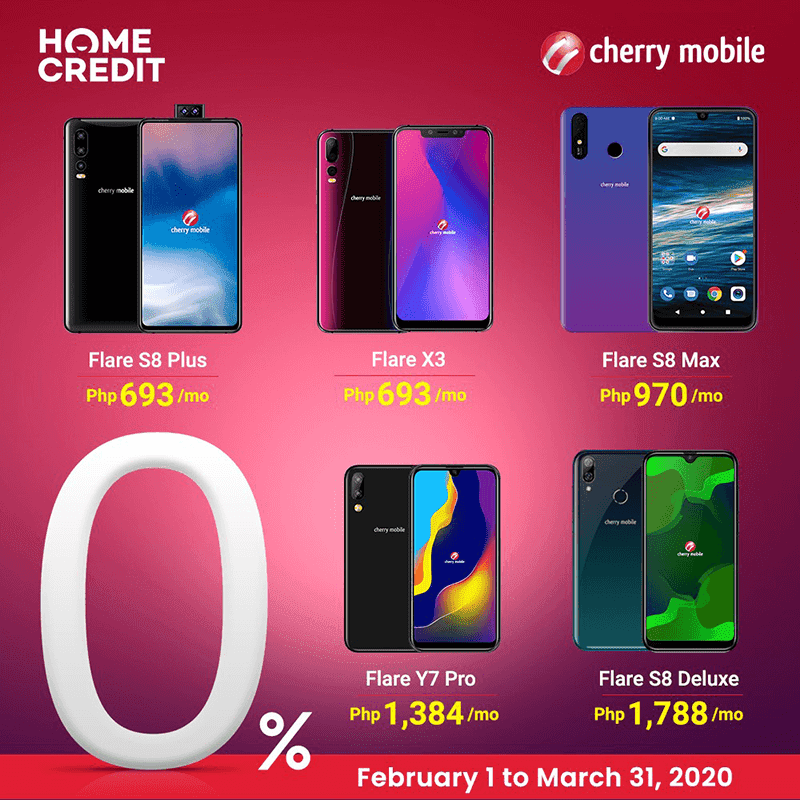 Cherry Mobile is now on Home Credit