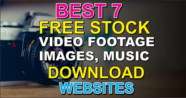 Top 7 Free Stock Footage Sites 2020 Download Free Videos, Music, Images & Templates