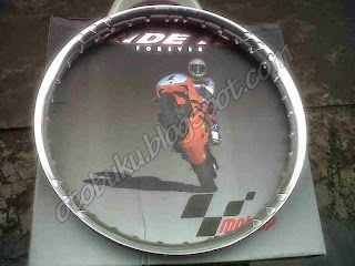 Velg Ride It Terbaru Warna Silver