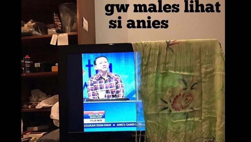 Penonton malas lihat Anies di debat Mata Najwa