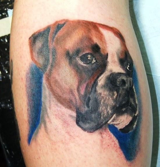 12 Tatuajes De Bóxer Para Llevar A Tu Amigo Siempre Contigo Bóxer