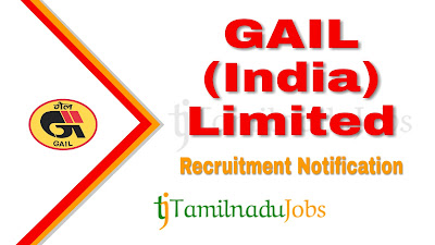 GAIL recruitment notification 2020, govt jobs in India, central govt jobs, govt jobs in India