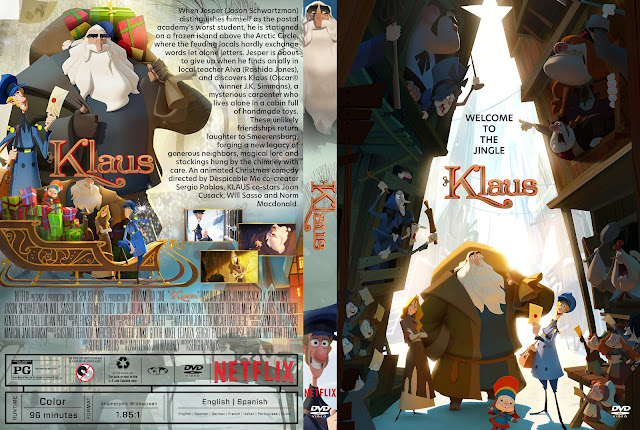 Klaus DVD Cover