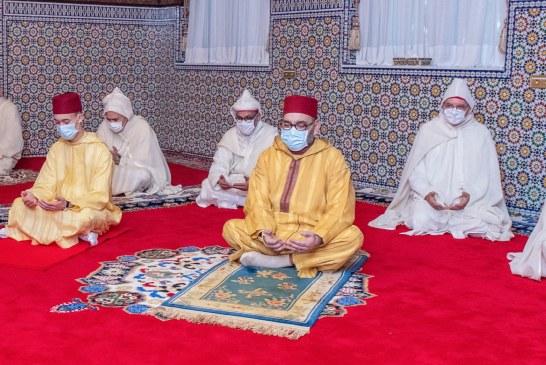 الملك محمد السادس يحيي ليلة المولد النبوي الشريف28.10.2020