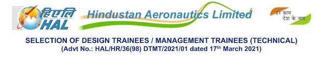 Hindustan Aeronautics Limited | March Job Update | Engineering