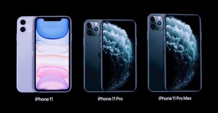 iPhone 11 Pro Max, iPhone 11 Pro, dan iPhone 11
