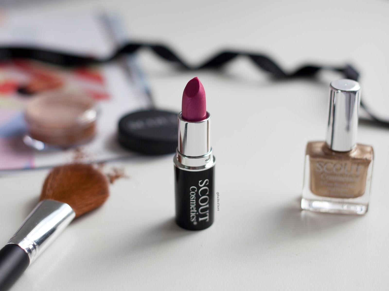 SCOUT Cosmetics Bronze Goddess Lipstick