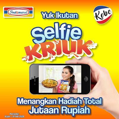 Lomba Selfie Dapur Kobe Berhadiah Uang Tunai + Voucher