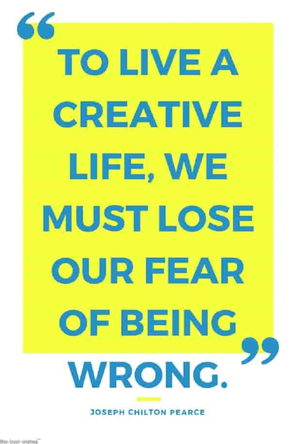 creative life quote of joseph chilton pearce