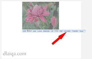 klik 'Add caption'