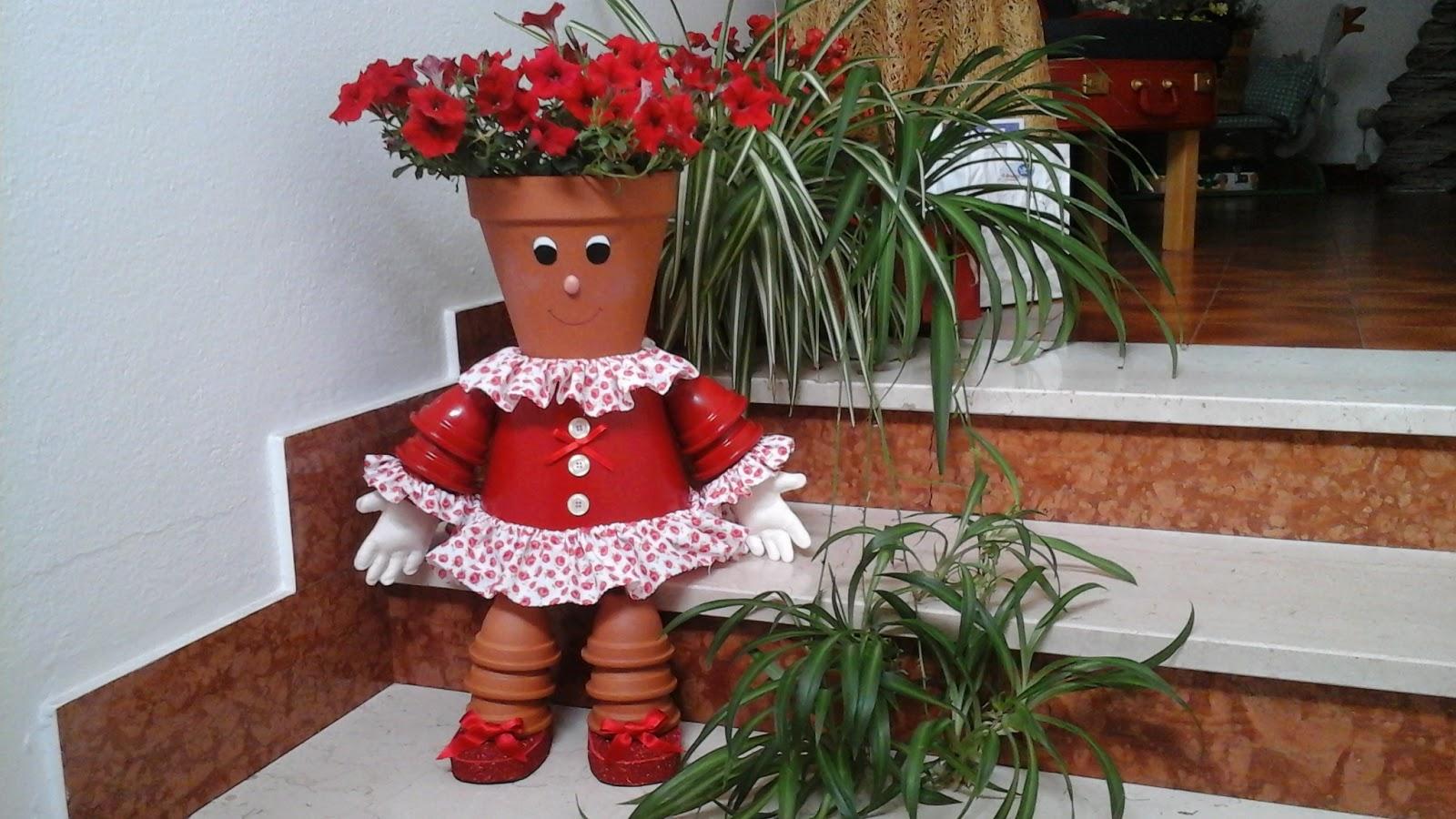 Rosalba e le sue creazioni martina il porta vaso for Creazioni giardini