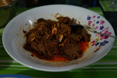 Perpaduan Rendang daging ala Padang dan Tionghoa Foodblogger Pontianak