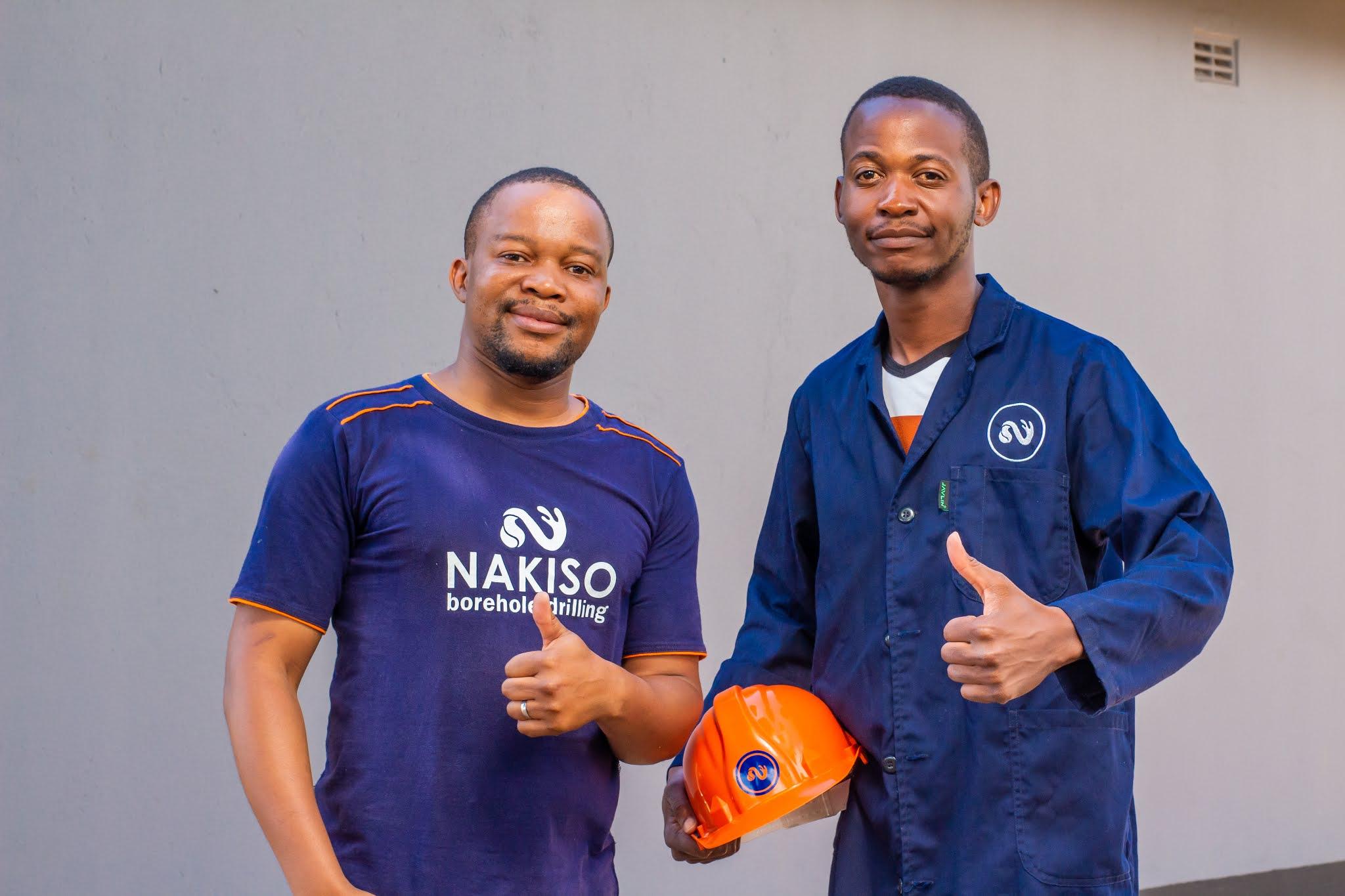 CEO Lincoln Masiyenyama and Oudney Patsika Head of Marketing