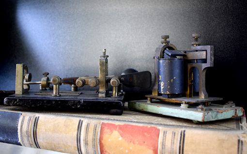 Telegraph | Senoia Area Historical Society Museum | Photo: Travis S. Taylor