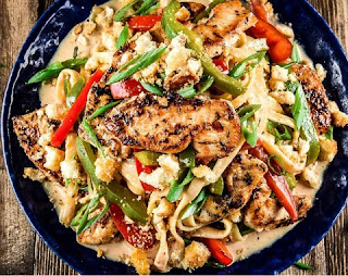 home chef cajun chicken pasta
