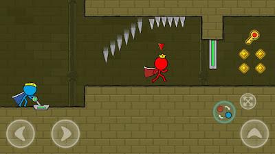 تحميل لعبة Red and Blue Stickman مهكرة للأندرويد آخر إصدار