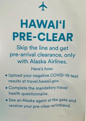 How Alaska Airlines COVID Hawaii Pre-Clear Program Works