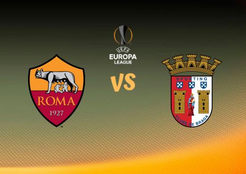 Roma vs Sporting Braga  Resumen