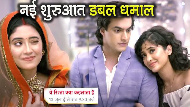High Voltage Drama : Naira double role tadka unveils shocking reason to impress Sita in YRKKH