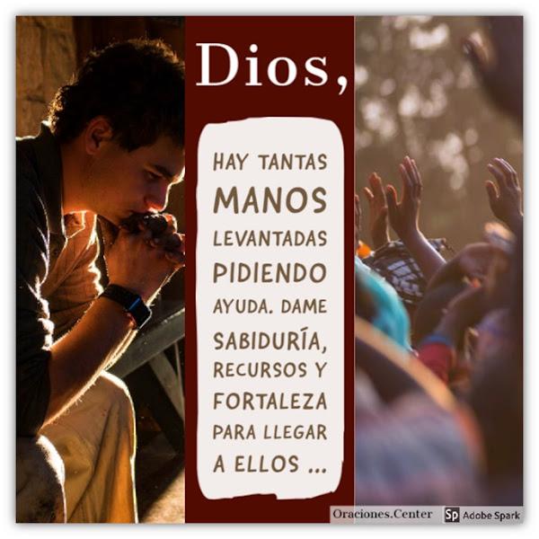 Oración para Ayudar a Otros