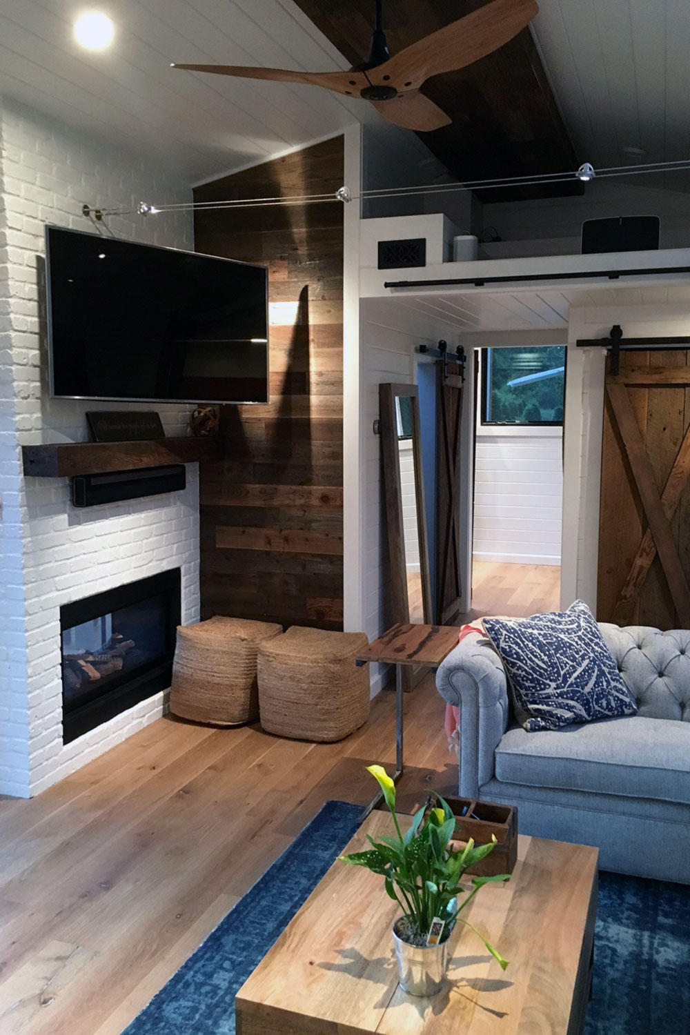 "Small House Living Room: TINY HOUSE TOWN: The ""Hawaii House"" By Tiny Heirloom"
