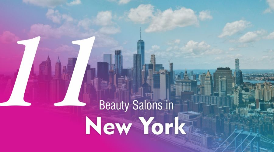 most best popular recommended beauty salons parlours lounge in New Yor city near me usa treatments services hairstylist hairdresser