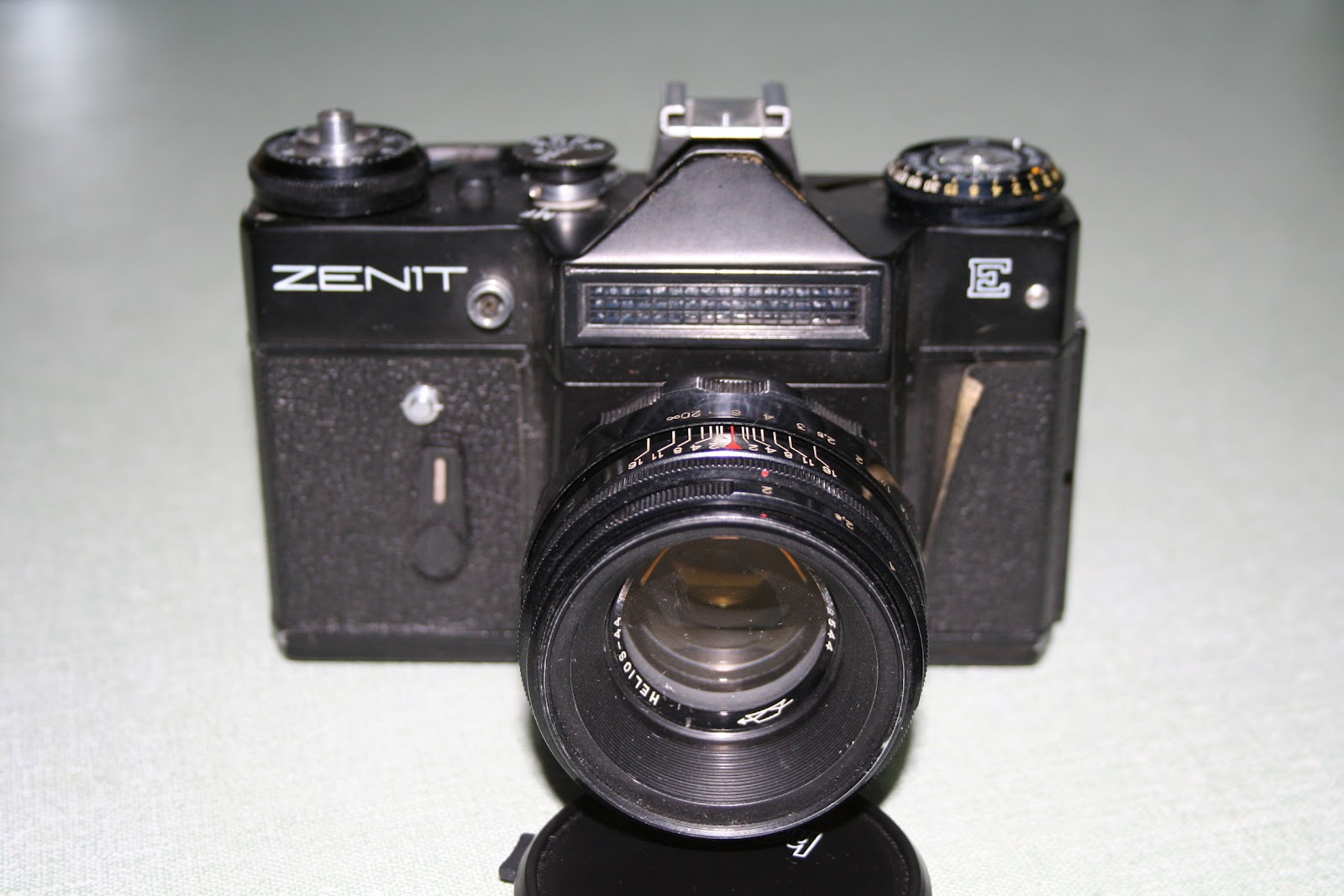 Zenit: John Margetts' Old Camera Blog.: Zenit E