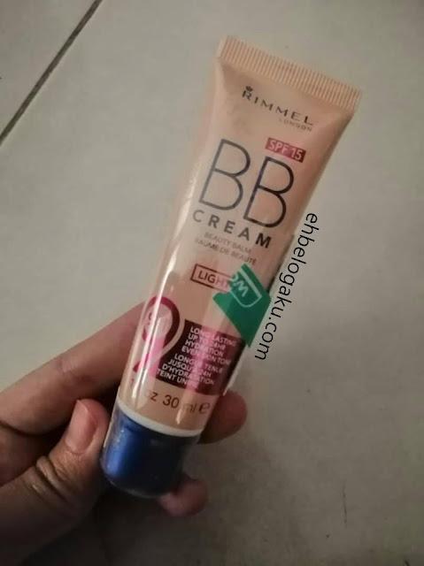 bb cream, rimmel, Kulit kombinasi dan bb cream,