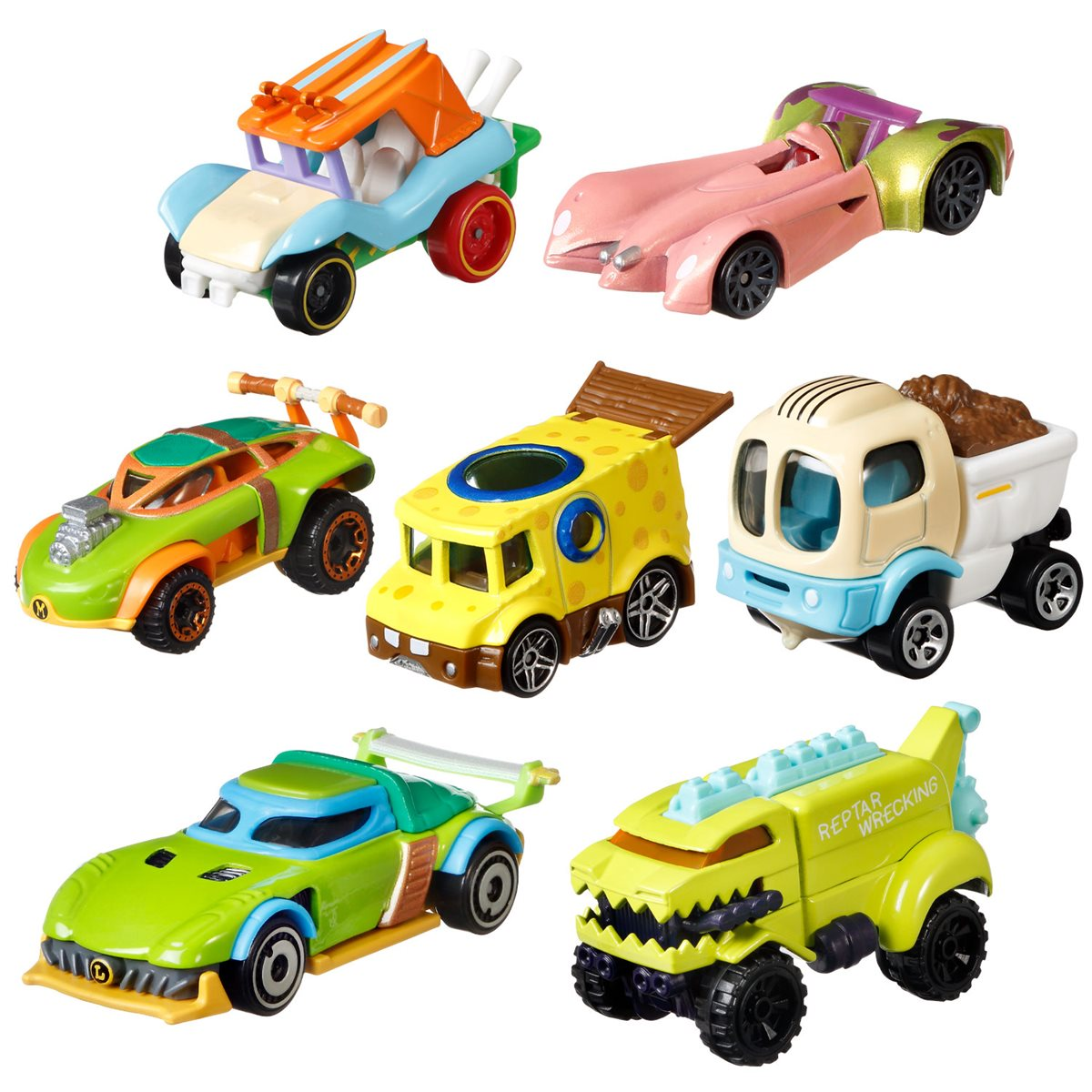 Mattel Unveils Hot Wheels Nickelodeon Character Car 2021 Mix 1 Case Line-Up