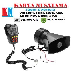 Jual Emergency Sirene 12 V 2Ea 7 Tone Sound Car Recording di Sidoarjo