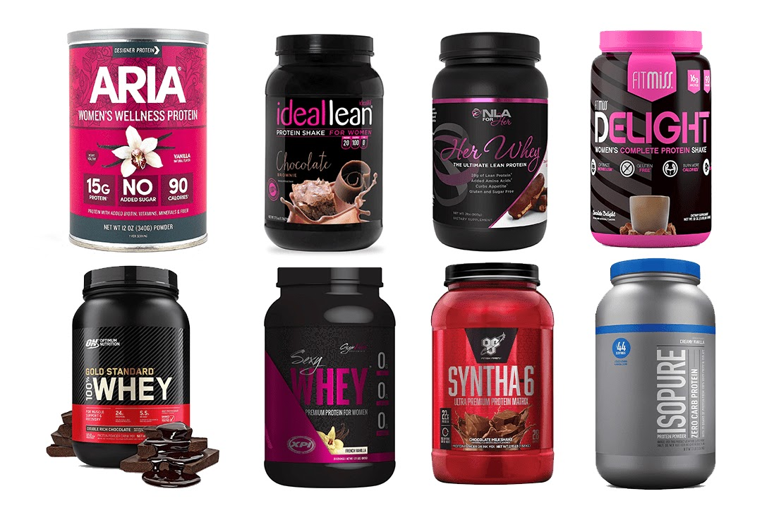 TOP 10 Best Whey Protein For Women