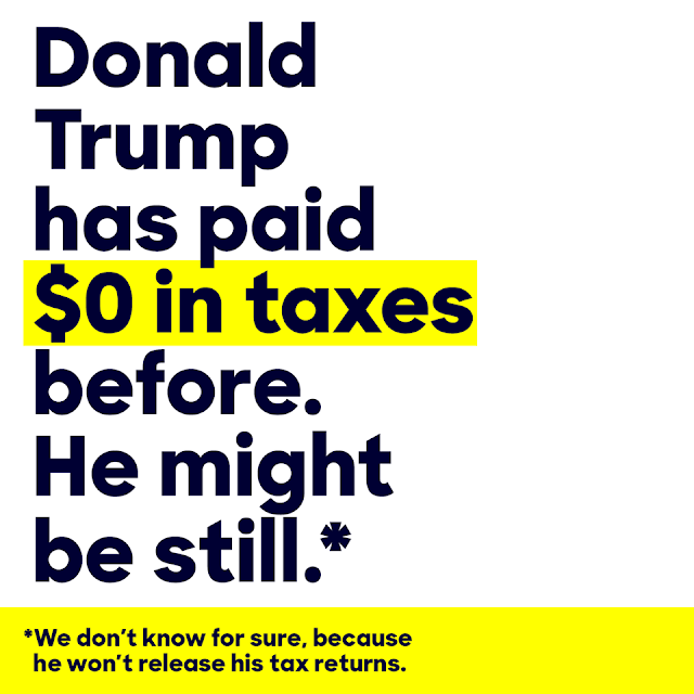 Jobsanger: Clinton Paid Over 43% In Taxes -- Did Trump Pay