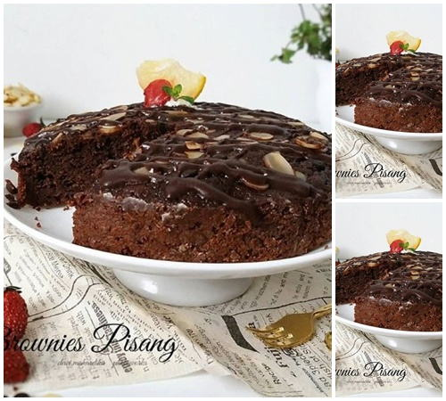 Resep Brownies Panggang Tanpa Mixer Nyoklat Fudgy Brownies