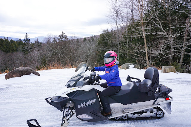 Northern Extremes Snowmobiling-Kristy Albano- White Mountains- New Hampshire