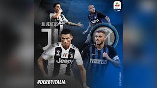 بث مباشر مباراة يوفنتوس وإنتر ميلان بث مباشر اليوم 07/12/2018 ديربي ايطاليا علي قناة BIENSPORTS 4 HD live