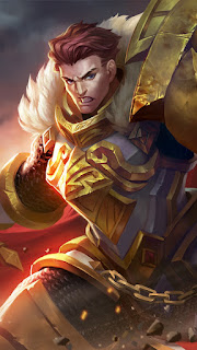 Tigreal Warrior Of Dawn Heroes Tank of Skins Old V1
