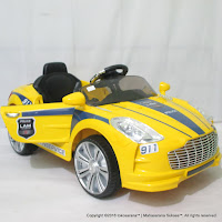 Mobil Mainan Aki Pliko PK9628N Aston Marten